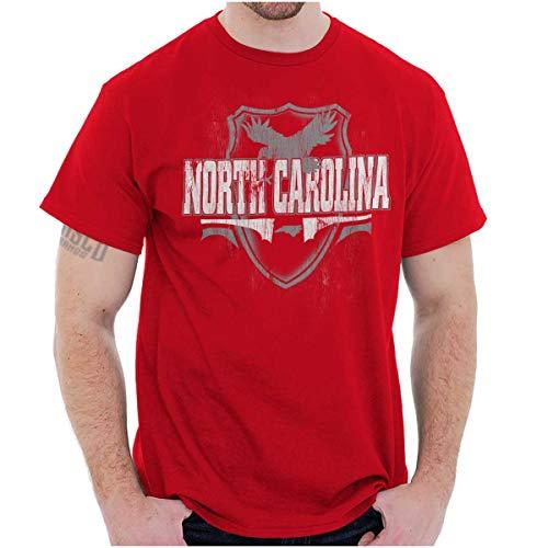 (North Carolina The Tar Heel State Game Gift T Shirt Tee Red)