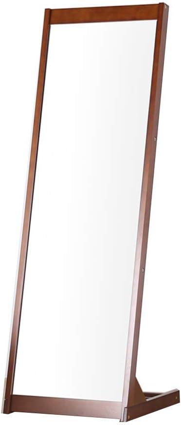 XSV 627 - Espejo de pie de Madera Maciza de Longitud Completa para Suelo y Techo: Amazon.es: Hogar
