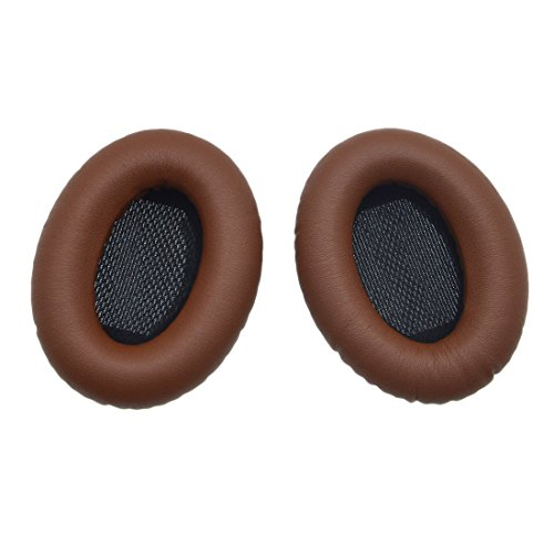 Replacement Ear Cushion Ear Cushion for Bose Quietcomfort 2 QC2, Quietcomfort 15 QC15, Quietcomfort 25 QC25, Quietcomfort 35 QC35, Around Ear 2 AE2, AE2i, AE2w Headphones with iParaAiluRy Guarantee