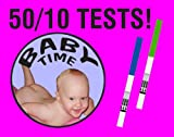 50 Ovulation tests, 10 Pregnancy tests and Ovulation Chart!, Health Care Stuffs