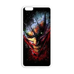 Colourful Woman Head Custom Case for iPhone6plus 5.5 (Laser Technology)