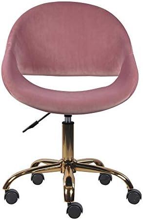 GIA Mid-Back Adjustable Swivel Vanity Chair
