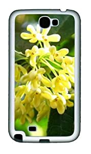 August Osmanthus Personalized Samsung Galaxy Note 2/ Note II/ N7100 Case and Cover - TPU - Black