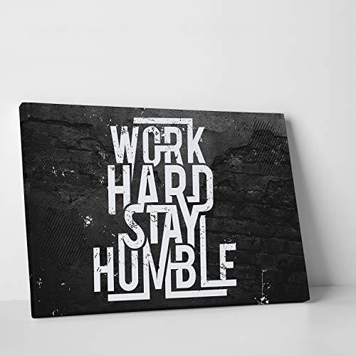 - CanvasChamp Wall Art, Inspirational & Motivational Canvas Print Decor for Schools, Libraries, Offices, Gyms, and more, with Phrase