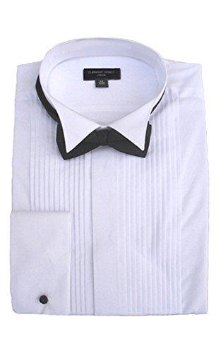 100% cotone a pieghe Wing colletto vestito maglietta