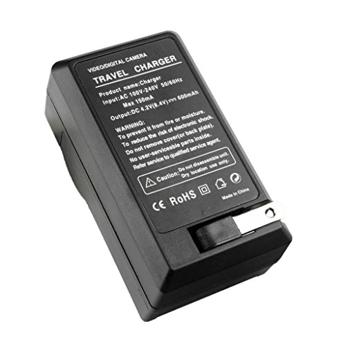 Battery Charger for Panasonic CGA-S007 Lumix DMC-TZ3 DMC-TZ1 DMC-TZ4 DMC-TZ