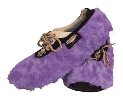 Master Ladies Shoe Covers Fuzzy Lavender ( Large ) by Master