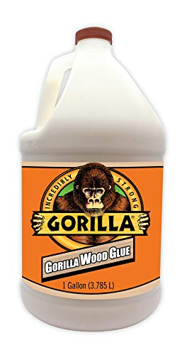 Gorilla 6231501 Gallon Wood Glue, Natural Color