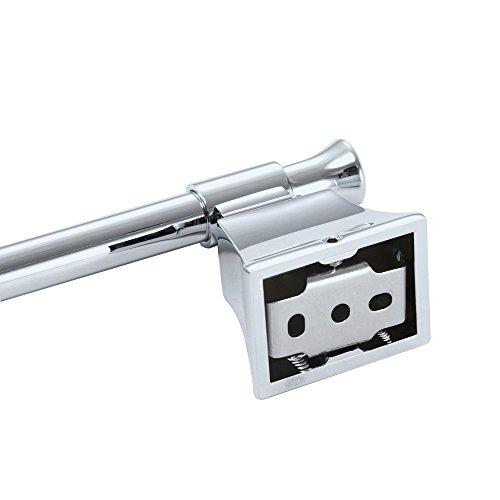 HOMEIDEAS 25-Inch Bathroom Towel Bar Lavatory Single Towel Hanger Wall Mount Towel Shelf,Polished Chrome durable modeling