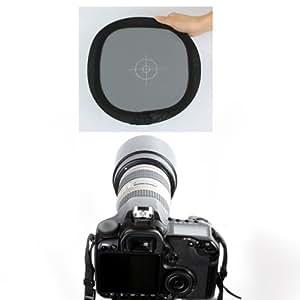 Neewer 30cm gris/Balance de blancos Tarjeta de dos lados de doble cara Focus tabla para fotografía
