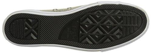 Converse Chuck Taylor - Mandrini Sneaker Damen Schuhe - 553333c - Oro Chiaro-nero