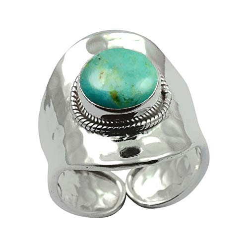 Silver Palace 925 Sterling Silver Turquoise Rings for men