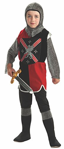 Rubie's Costume Knight Tunic Costume, One Color, (Knights Of The Round Table Costumes)