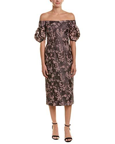 David Meister Womens Cocktail Dress, 2, Pink