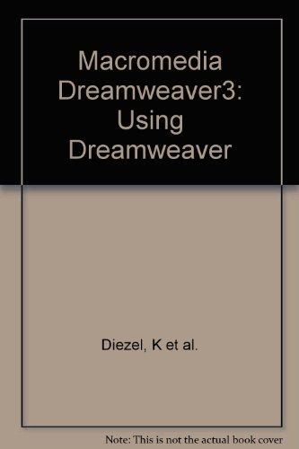 Macromedia Dreamweaver3: Using Dreamweaver