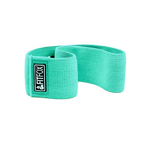 FITFOX Non-Slip Hip Resistance Bands & Carrying Bag - Booty Bands for Legs, Glute, Squats and Thigh Workout