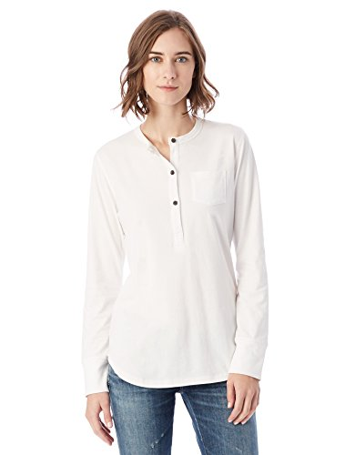 Organic+cotton Products : Alternative Women's Organic Pima Henley Top