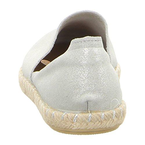 VERBENAS 058scc-0009-0001 - Mocasines de Piel para mujer Plata