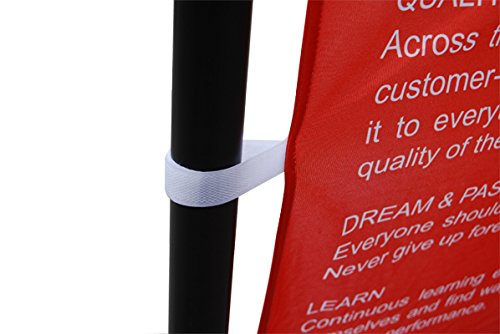Sign Talk 8x8ft Telescopic Banner Stand Step and Repeat Adjustable Backdrop Wall Exhibitor Expanding Display Photographic Background Trade Show Photographic Back Ground (10x8 Heavy Duty)