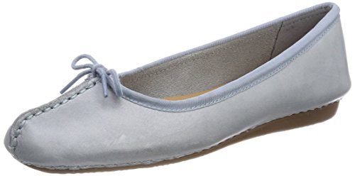 outlet hot sale for sale the cheapest Clarks Women's Freckle Ice Ballet Flats Blue (Blue Grey) pay with paypal online free shipping lowest price free shipping extremely 02O975