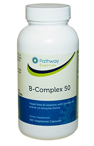 B-Complex-50 with coenzyme B vitamins (100 Veggie Caps)