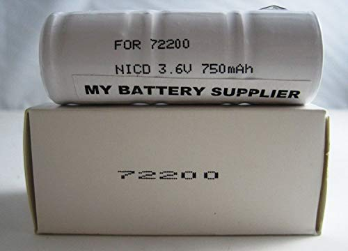 - Replacement Welch Allyn 72200 (NiCd) Nickel Cadmium Medical Battery
