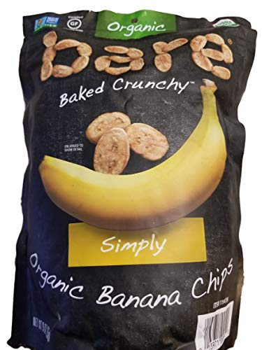 Dried Banana Organic (Bare Organic Baked Banana Chips)