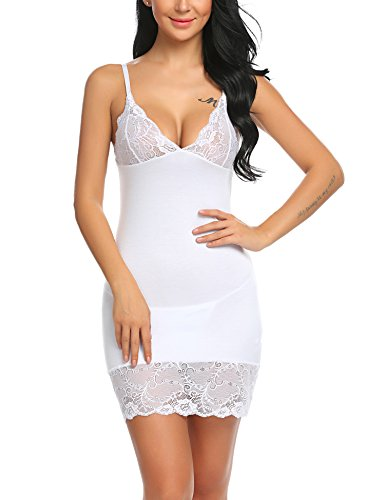lace dress slip - 3