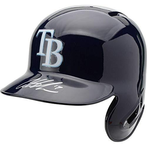 AUSTIN MEADOWS Autographed Tampa Bay Rays Replica Batting Helmet FANATICS