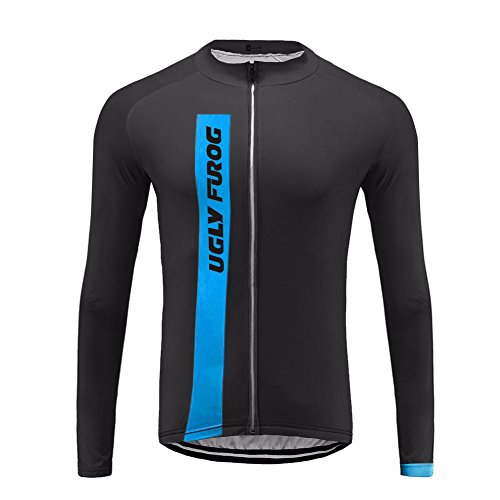 Uglyfrog 2017 UG6 New Classical Thermal Fleece Winter Long Sleeve Cycling Jersey Mountain Triathlon - Singapore Triathlon 2017
