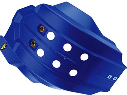 (Cycra Full Coverage Skid Plate with Hard Mounts - Blue 6211-62)