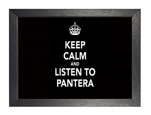 ula bear Pantera 8, A4 Framed Poster, Photo, Print, Rock, Metal, Album, Picture, Band, Music, Unique, Cover, Death Metal - Pantera Rock Music Band