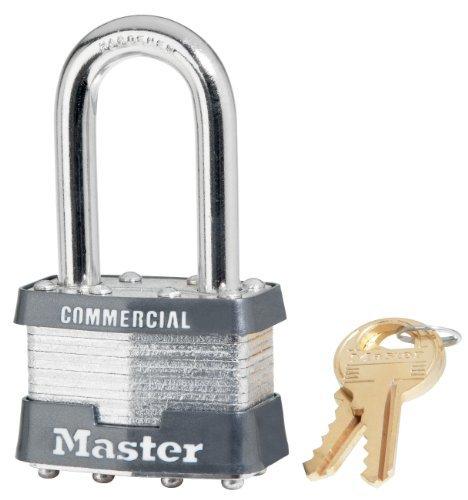 Masterlock 1KALF 2035 1-3/4 Inch Wide Laminated Steel Pin Tumbler Padlock with 1-1/2 Inch Shackle