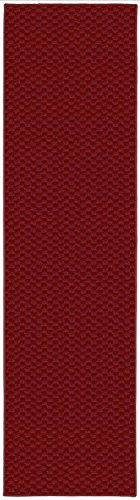 Garland Rug Medallion Rug Runner, 2' x 8', Chili Pepper Red ()