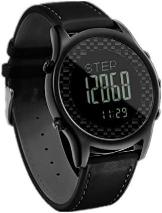 ATAとU- スプーン - 登山高度釣り圧力コンパス温度計ステップランニング屋外多機能腕時計男性超薄型