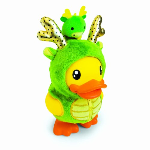 [B.Duck Dragon Saving Bank, 16cm] (Piggy Back Costume Baby)