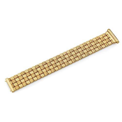 14k Yellow Gold Stampato Basket Weave Bracelet, 7.5 Inches - 14k Yellow Gold Basketweave Bracelet
