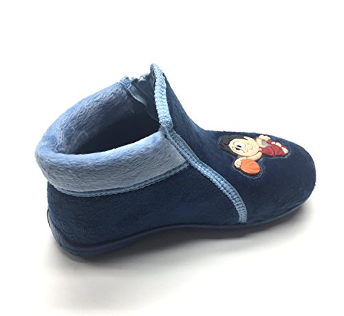 Gezer Boys' Blue Boys' Slippers Gezer Slippers dXrXx