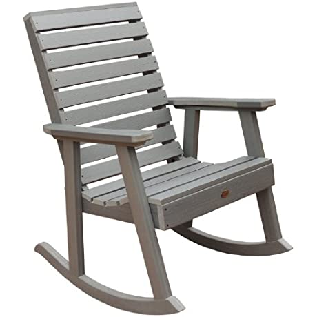 Highwood Weatherly Rocking Chair Coastal Teak