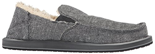 Slipper Vagabond Fleck Men's Wool Chill Sanuk Charcoal w1Bqgxa