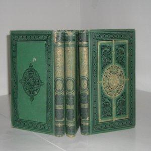 THE CABINET OF IRISH LITERATURE 3 VOLUMES, ca. (1880s Cabinet)