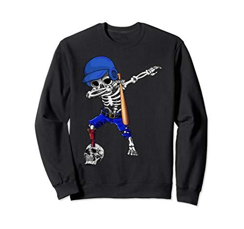 Dabbing Baseball Player Halloween Costume For Men Women Sweatshirt]()