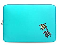 Design Crystal Bling Rhinestone Studded Turquoise Laptop Case