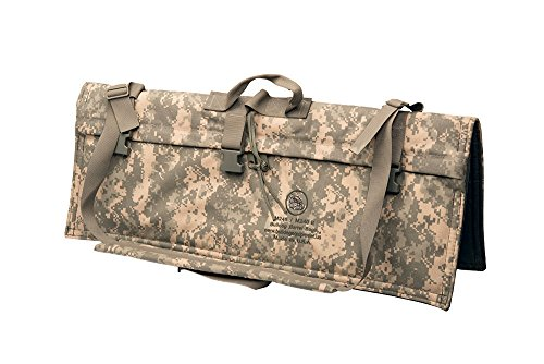 US Army Military BULLDOG Digital Camouflage Camo ACU M240B/ M249 SAW Spare BARREL Rifle Gun Weapon Bag Carrier with Sling for Shooting Hunting Paintball by US Government GI USGI Genuine Issue