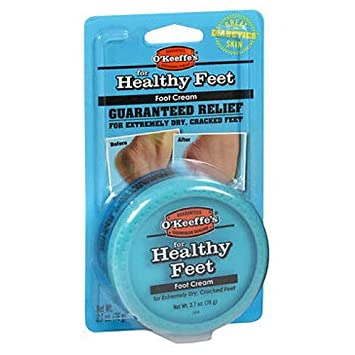 Okeefes Healthy Feet Foot Cream 2.7 Oz by O Keeffe s Pack of 6