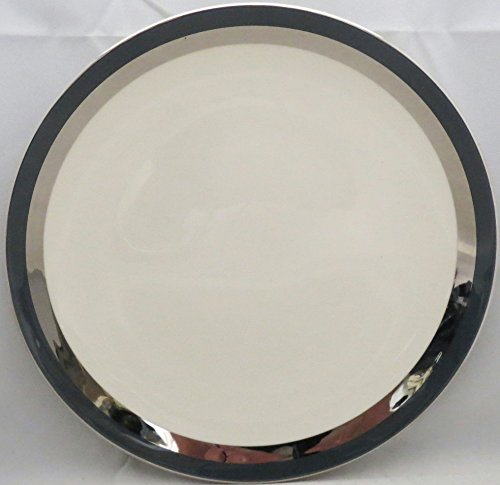 Flintridge Contessa Black Salad Plate (Imperfect)