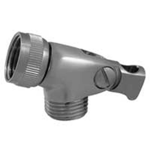 Whitehaus WH172A8-BN Showerhaus Brass Swivel Hand Spray Connector for Use with Mount Model Number Brushed Nickel