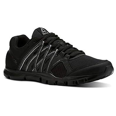 ba7888a778a5ba Reebok CN1857  Men s Yourflex Train 8.0 LMT Training 8 Black-Pewter Sneaker  (8