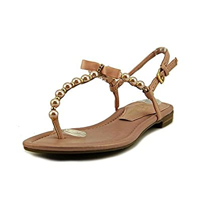 Marc Fisher Womens FUMI Open Toe Casual Ankle Strap Light Pink Size 5.5