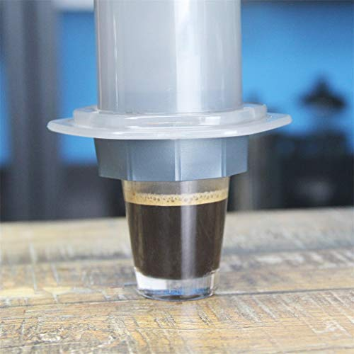 Finedayqi  Pressure-Actuated Attachment for Coffee Make with Reusable Filter Espresso-Style ()